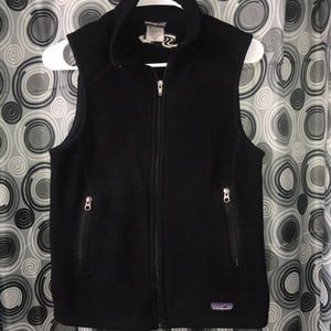 Patagonia Synchilla Black zip Vest